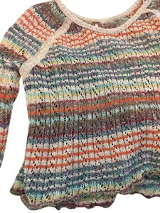 Free People Boho Knit Knit Trend Sweater