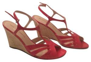 Franco Sarto Red patent Sandals
