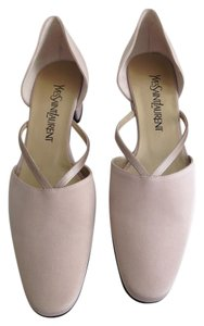 Saint Laurent Satin Sand Pumps