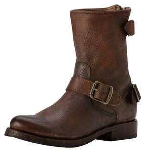 Frye Leather Boot Brown Boots