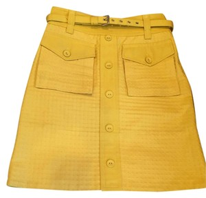 Marc Jacobs Marc By Pencil Skirt Yellow