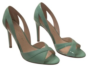 Ivanka Trump Light green Pumps