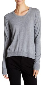 ATM Hi Low Fitted Cashmere Sweater