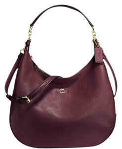 Coach F38259 Harley Leather Hobo Bag