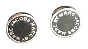 Marc Jacobs Marc Jacobs Enamel Logo Disc Earrings
