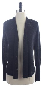 Ann Taylor LOFT Sequin Open Front Cardigan Sweater
