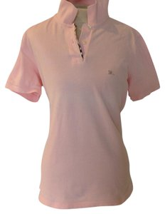 Burberry London Button Down Shirt Pink