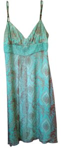 Laundry by Shelli Segal short dress Turquoise Paisley on Tradesy