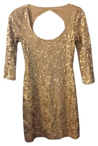 Arden B. Mini Sequin Holiday Festive Dress