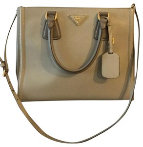 Prada Tote in Beige/Gray