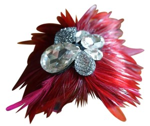 Other Feather cuff/bracelet with rhinestones, Nordstrom