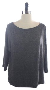 Ann Taylor LOFT Cotton Knit Boat Neck Casual Sweater