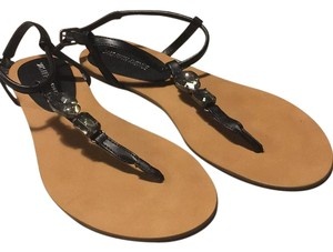 Saks Fifth Avenue Black Sandals