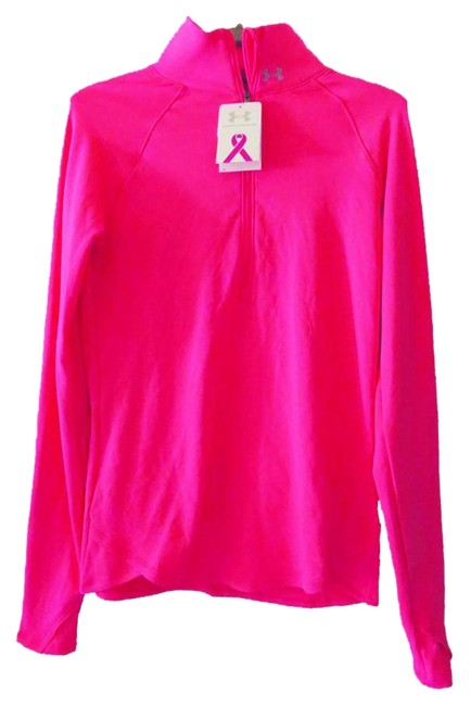 Item - Bright Pink Breast Cancer Awareness Cold Gear Activewear Top Size 8 (M, 29, 30)