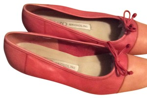 Enzo Angiolini Red/orange Flats
