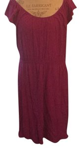 Old Navy short dress Raspberry on Tradesy
