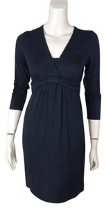 Boden Pleated 3/4 Sleeve Dress