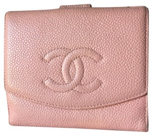 Chanel Chanel Pink Caviar Skin Leather