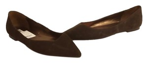 Steve Madden Suede Pointy-toe Brown Flats