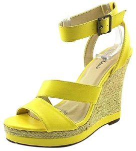 Michael Antonio Yellow Wedges
