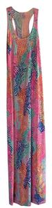 Multi colored print Maxi Dress by Lilly Pulitzer