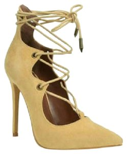 Shoe Republic LA Tan Pumps