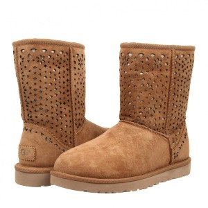 UGG Australia Boot Perforated Flora Brown Boots