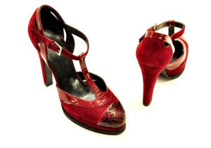 Barbara Bui red Pumps