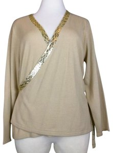 Lane Bryant Sequins Wrap Sweater