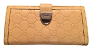 Gucci Guccissima Leather Wallet Gucci Embossed GG