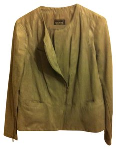 DKNY Motorcycle Faux Suede Motorcycle Jacket
