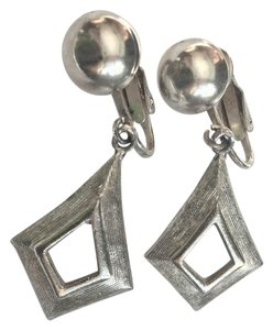 Other Vintage 1950's Silver Clip On Earrings