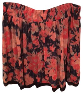 INC International Concepts Skirt Pink and navy blue