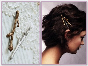 Twig Hair Adornment
