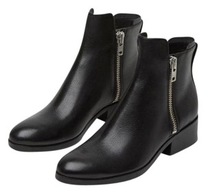 3.1 Phillip Lim Alexa Zipper Metallic Black Boots