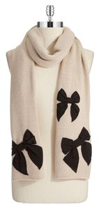 Kate Spade Kate Spade New York Extra Long Scarf with Embroidered Bows.