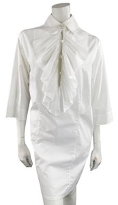 Chanel short dress White Equestrian on Tradesy