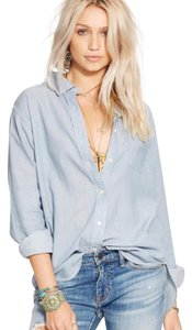 Ralph Lauren Button Down Shirt Light Indigo