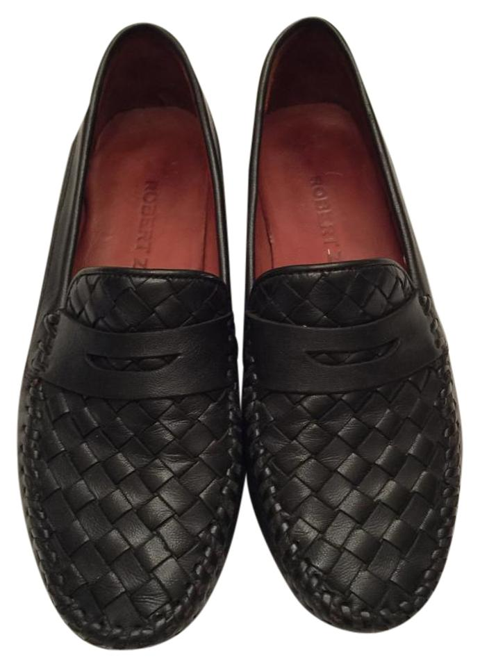WOMENS Known Robert Zur Black Loafer Flats Known WOMENS for its beautiful quality ed681e