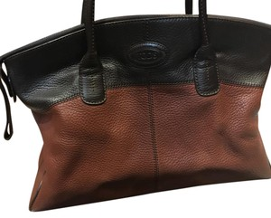 Tod's Tote in Brown-2 Tone