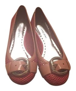 Gianni Bini tan and coral Flats