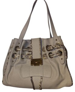 Jimmy Choo With Tags Dust Tags Satchel in White