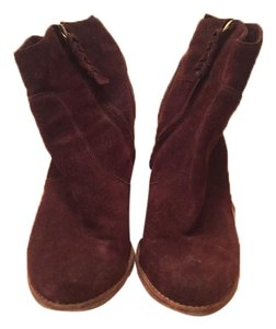 Joie Burgundy Boots