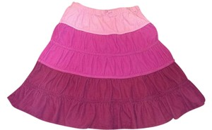 The Children's Place Children Skirt Pink, med. Pink and dark pink