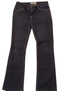 Zara Dark Denium Size 8 Boot Cut Jeans-Dark Rinse