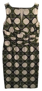 Anne Klein Geometric Dress