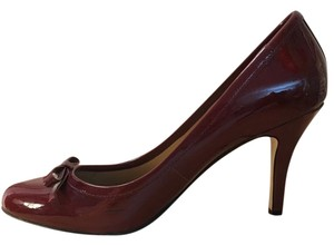 Talbots Leather Leather Burgundy Pumps