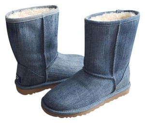 UGG Australia Boot Washed Denim Boots