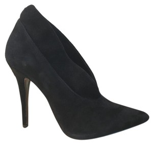 Nine West Leather Suede Ankle Black Boots