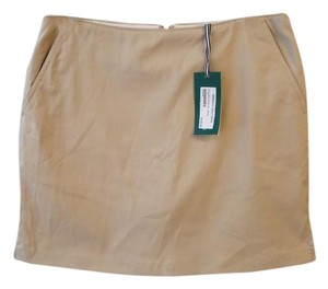 Vineyard Vines Skort Golf Preppy Mini Skirt khaki